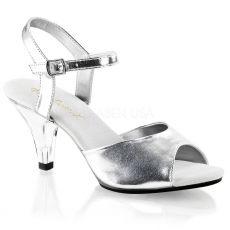 BELLE-309 Sandálky na nízkém podpatku