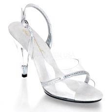 CARESS-456 Společenské boty na podpatku