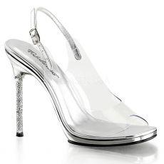 CHIC-18 Společenská obuv na jehlovém podpatku