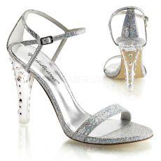 CLEARLY-425 Společenská obuv na podpatku