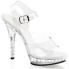LIP-108SDT Luxusní sexy boty na podpatku ozdobné kameny