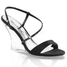 LOVELY-417 Plesová obuv na klínku