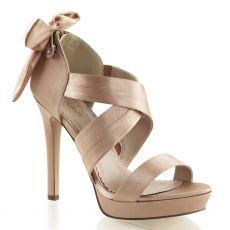 LUMINA29/BHSA Páskové béžové svatební boty