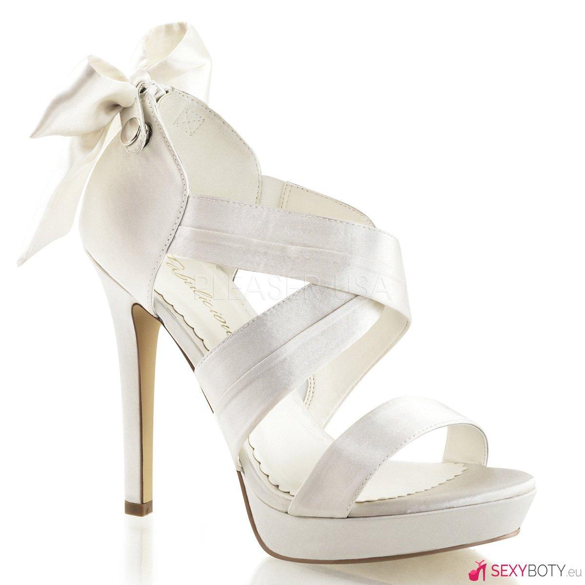 LUMINA29 IVSA Páskové bílé svatební boty  1370904365