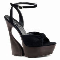 SWAN-636 Moderní boty na klínkovém podpatku