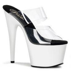 ADORE-702UV Svítící bílé sexy boty