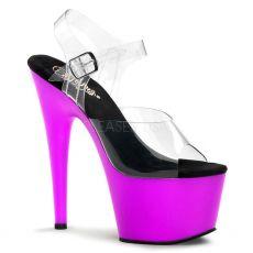 ADORE-708UV Svítící fialové taneční sexy boty