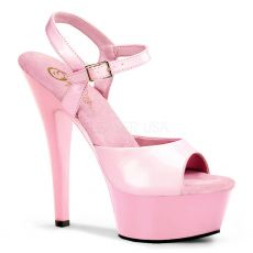 KISS209/BP/M Růžové sexy boty na pole dance