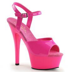 KISS209UV/NHPNK/M Růžové svítící boty