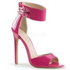 SEXY-19 Růžové sexy lodičky na podpatku