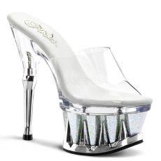 SPIKY-601MG Sexy boty na podpatku a moderní spiky platformě