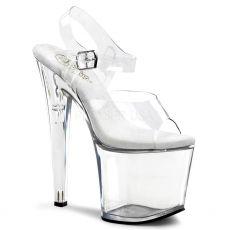 TABOO-708 Průhledné sexy boty na platformě a podpatku