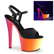 RBOW309UV/BPU/NMC Svítící boty na vysokém podpatku