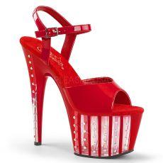 ADORE-709VLRS Červené sexy boty
