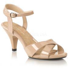 BELLE-315 Plesové tělové sandály