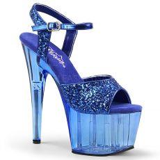 ADORE-710GT Modré sexy boty