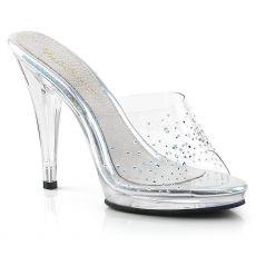 FLAIR-401SD Luxusní pantofle na podpatku