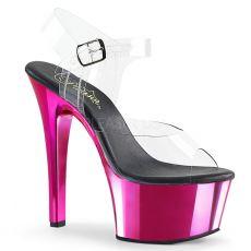 ASPIRE-608 Tmavě růžové sexy boty asp608/c/hpch