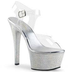 ASPIRE-608MG Luxusní sandály na vysoké platformě asp608mg/c/s