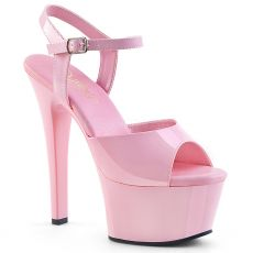 ASPIRE-609 Růžové sexy boty na vysokém podpatku a platformě asp609/bp/m