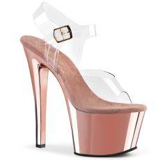 SKY-308 Strip sexy boty růžové zlato sky308/c/rogldch