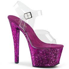 5935d6b6af9f SKY-308LG Fialové boty na vysokém podpatku a platformě