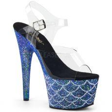 ADORE-708MSLG Modré luxusní sexy boty ado708mslg/c/blg