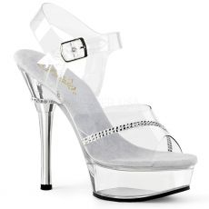 ALLURE-608R Taneční boty na podpatku all608r/c/m