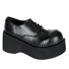DANK-101 Černé punk boty