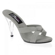 CARESS-401-4 Pantofle na nízkém podpatku